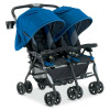 Combi Double Stroller Twin Cosmo - Compact Side-by-Side Double Stroller