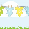 Design Your Own Baby Onesie - Baby Shower Activities
