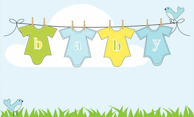 Design Your Own Baby Onesie - Baby Shower Activities