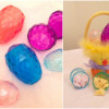 Healthy Easter Egg Fillers for Toddlers - Eggs and Chick Basket