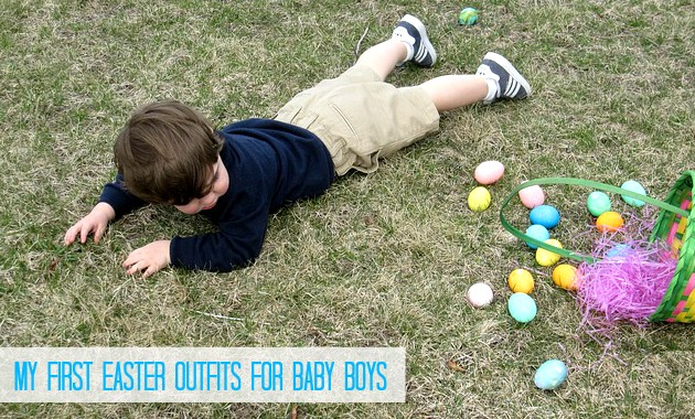 First Easter Outfits for Baby Boys