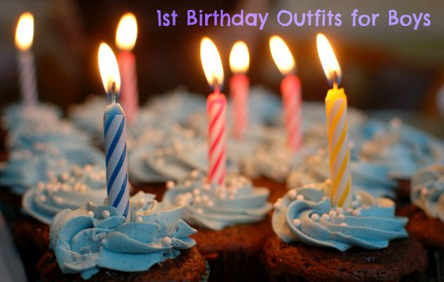 First Birthday Outfits for Boys