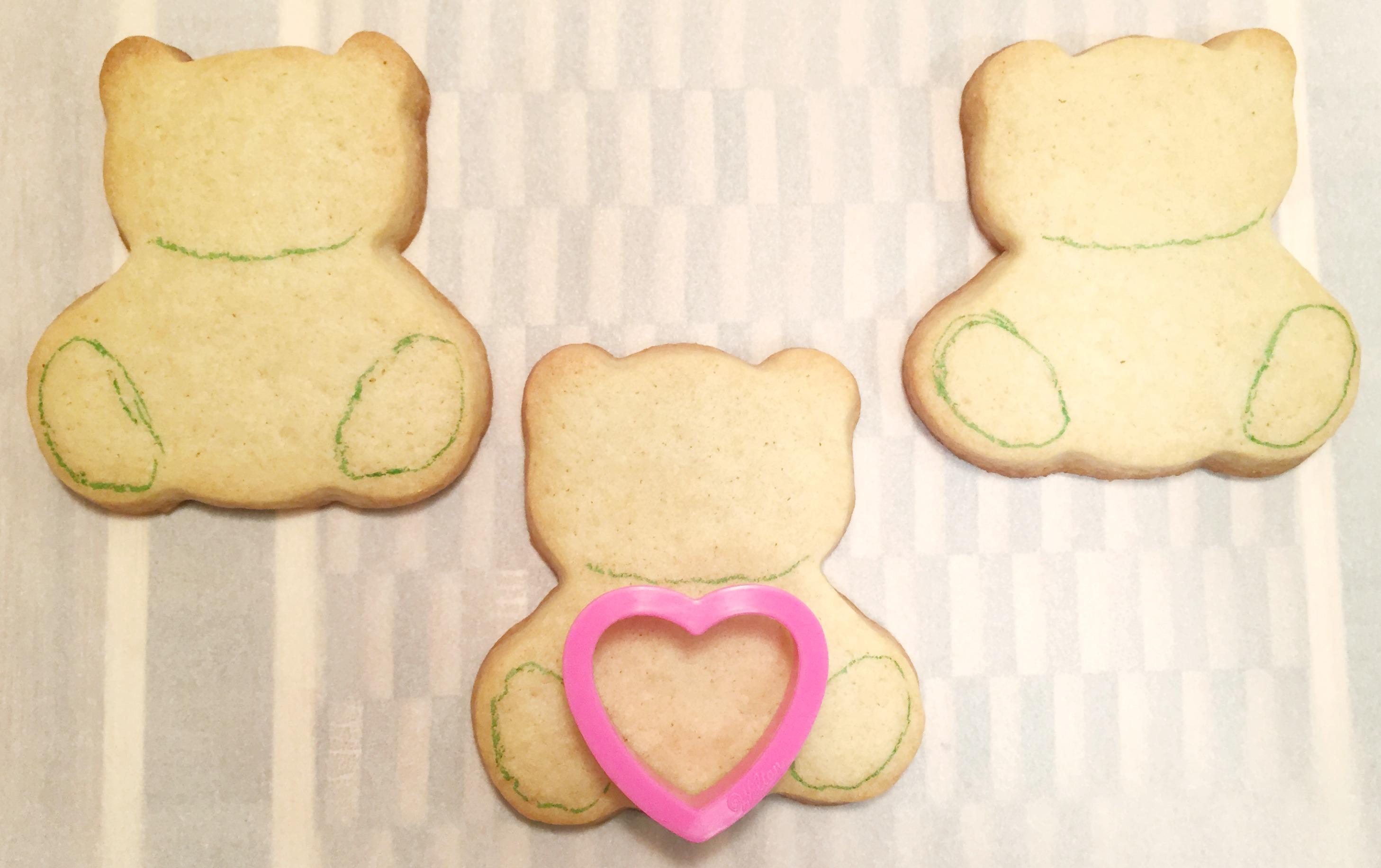 Teddy Bear - Outline