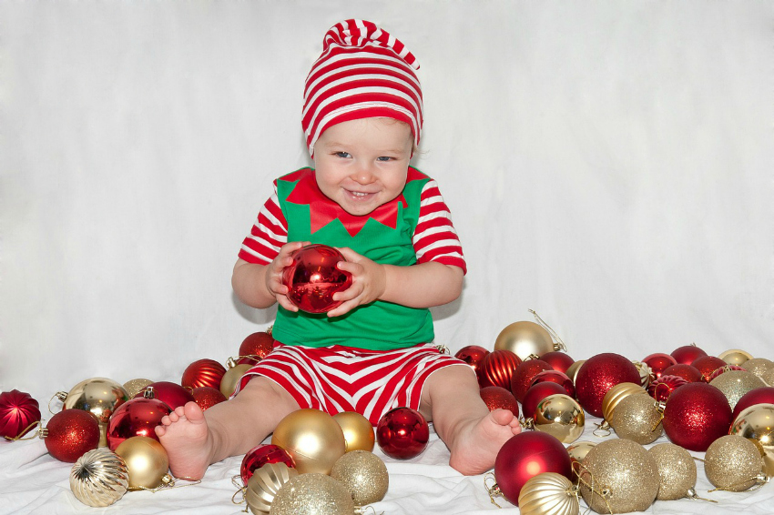 Super Cute Christmas Baby Costumes